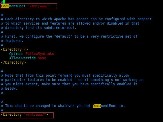 APACHE 服务安全配置