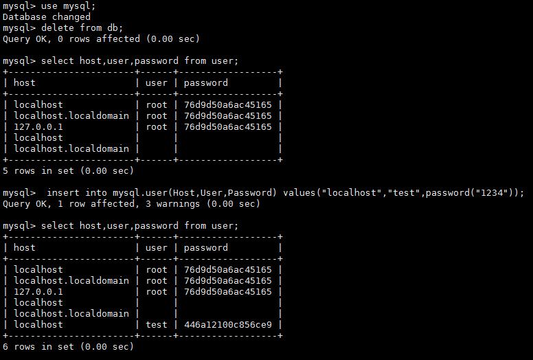 MySQL 数据库加固