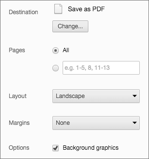 PDF 导出